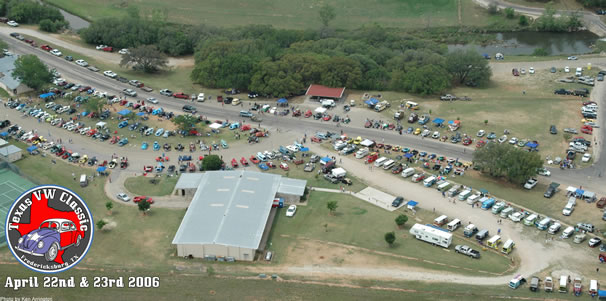 2006 Texas VW Classic Aerial Photo