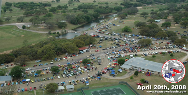2008 Texas VW Classic Aerial Photo