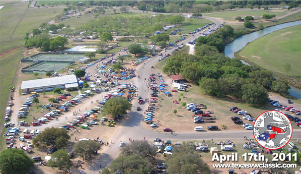 2011 Texas VW Classic Aerial Photo