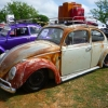 Waldo The Rat (#0209) - 1962 Beetle (Rust/White Multi Color)