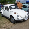 Freda (means Peace) (#0507) - 1971 Beetle (White)