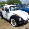 JB Cop Bug (#0508) - 1973 Beetle (White with Black fenders - Cop Bug - Stock except Paint)