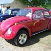Candy Girl (#0510) - 1975 Beetle (Candy Red w/ Red and White Interior)