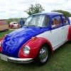 The Tribute (#0604) - 1973 Beetle (Red, White & Blue)
