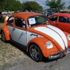 Street Low (#0611) - 1974 Beetle (Orange & White Bug)