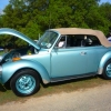 HUZ-WON (#0805) - 1979 Beetle (Teal Convertible)