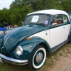Lucky Green (#0808) - 1968 Beetle (convertible forest green)
