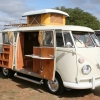 #1202 - 1965 Split Bus Camper (Pearl White SO-42)
