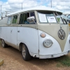 Murray (#1203) - 1963 Split Bus Camper (White and Tan)