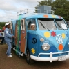 Love Bus (#1204) - 1963 Split Bus Camper (Blue)