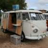 #1206 - 1967 Split Bus Camper (Pearl White)