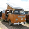 #1305 - 1971 Bay Window Bus Camper (Sierra Yellow Westphalia Camper)