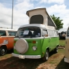 Skittles (#1315) - 1978 Bay Window Bus Camper (Green and White)
