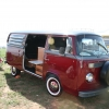 CHARLIE (#1322) - 1976 Bay Window Bus Camper (Burgundy/Grey)