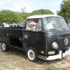 #1405 - 1970 Bay Window Bus Single Cab (Black/Green Singlecab)