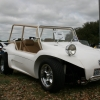 The Bandit (#2008) - 1970 Fiberglass Buggy (White with Tan Interior and Tan roll cage)