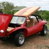 #2018 - 1970 Fiberglass Buggy (Red with Wood Grain)