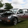 PISANT (#2404) - 2000 New Beetle (Silver with Flames & Supercharger)