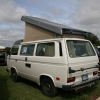 The Bus (#2502) - 1982 Vanagon (White Westfalia Vanagon w/ Diesel)
