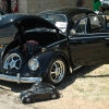 little black bug (#0305) - 1967 black Beetle