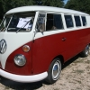 #0914 - 1966 red/white Bus (Split Window)