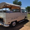 #1104 - 1970 Creame Bus (Bay Window) Double Cab