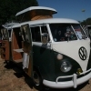 Booger Charlie (#1203) - 1966 white over green Bus (Split Window) Camper (1966 westfaila camper)