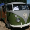 Walter (#1212) - 1967 Green Bus (Split Window) Camper