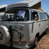 NewDee (#1321) - 1971 Pastel white Bus (Bay Window) Camper