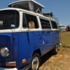 Utah (#1325) - 1970 Blue & White Bus (Bay Window) Camper