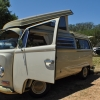 Bessie Mae Cooley (#1326) - 1968 Pearl White & Green Trim Bus (Bay Window) Camper