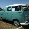 JIM (#1410) - 1963 Turquoise with White Roof Bus (Split Window) Double Cab (Stock 1963 DC. 1600ccDP)