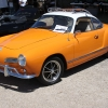 Maria the Karman Ghia  (#1515) - 1968 orange/white top Karmann Ghia