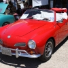 Rouge (#1603) - 1969 red with white top Karmann Ghia Convertible