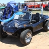 #2001 - 1964 black Fiberglass Buggy (Black with blue ghost flames)