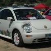 The Love Bug (#2408) - 2005 White New Beetle