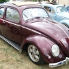 #0108 - 1957 Burgandy Beetle (Split/Oval)