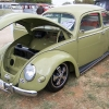 #0109 - 1956 Mango Green Beetle (Split/Oval)