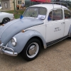 David (#0204) - 1967 White and grey Beetle
