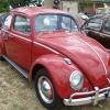 VW (#0208) - 1962 Ruby Red Beetle