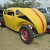 Yellowjacket (#0603) - 1972 yellow Beetle (Late Model/Super) (volksrod)