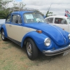 Bugsy (#0609) - 1974 Two-tone, blue with almond Beetle (Late Model/Super)