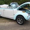 BUGSY (#0808) - 1979 MINT GREEN & OFF WHITE Beetle (Late Model/Super) Convertible (mild custom stock)