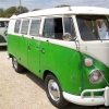 #0907 - 1965 bluewhite/velvet green Bus (Split Window) (Bus)
