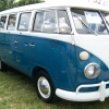 Filmore (#0912) - 1967 Sea Blue/ Cumulus White Bus (Split Window)
