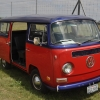 Dragon (#1115) - 1970 red and blue Bus (Bay Window)