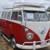 sharon chamberlain (#1201) - 1967 red/white Bus (Split Window) Camper
