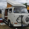NewDee (#1309) - 1971 Pastel White Bus (Bay Window) Camper