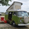 Crusty (#1314) - 1976 Sage Green Bus (Bay Window) Camper (extra crusty!)