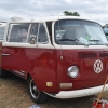 Beauty in the Beast (#1318) - 1971 Atlas White/Chianti Red Bus (Bay Window) Camper